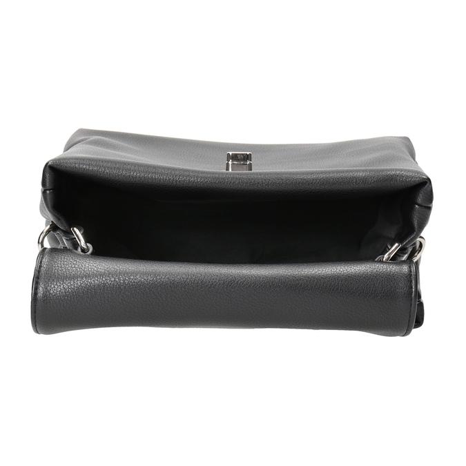 Černá dámská kabelka bata, černá, 961-6839 - 15