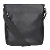 Pánská Crossbody taška s kapsou bata, černá, 961-6837 - 16