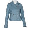 Modrý dámský křivák se zipy bata, modrá, 971-9198 - 13
