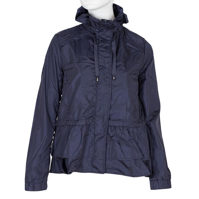 Dámská bunda s volánky bata, modrá, 979-9107 - 13