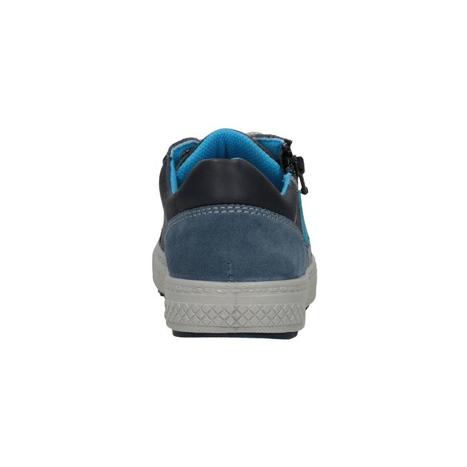 Chlapecké kožené tenisky modré mini-b, modrá, 416-9603 - 16