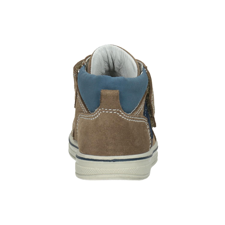 Bubblegummers Dětská kotníčková kožená obuv - Kotníková obuv  3851cd5612
