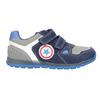 Modré kožené tenisky dětské mini-b, modrá, 213-9604 - 26