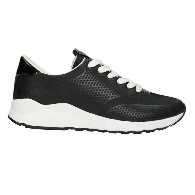 Černé dámské tenisky bata-light, černá, 549-6605 - 26
