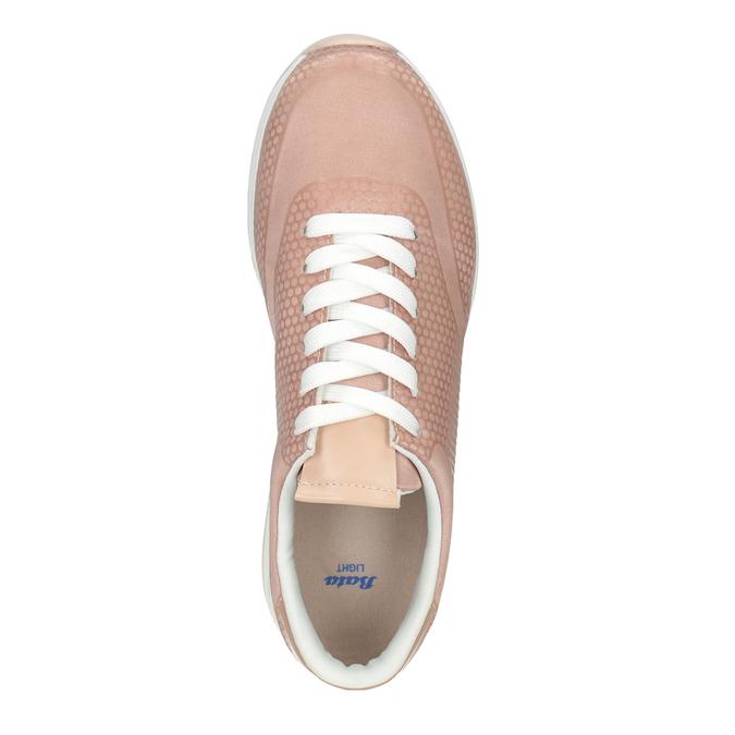 Dámské růžové tenisky bata-light, růžová, 549-5605 - 15