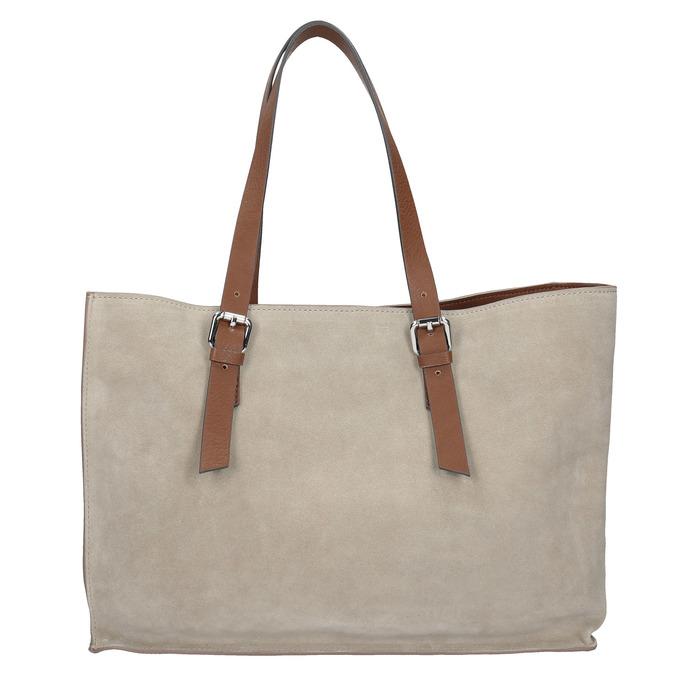 Kožená kabelka béžovo-hnědá bata, béžová, 2021-963-8194 - 16