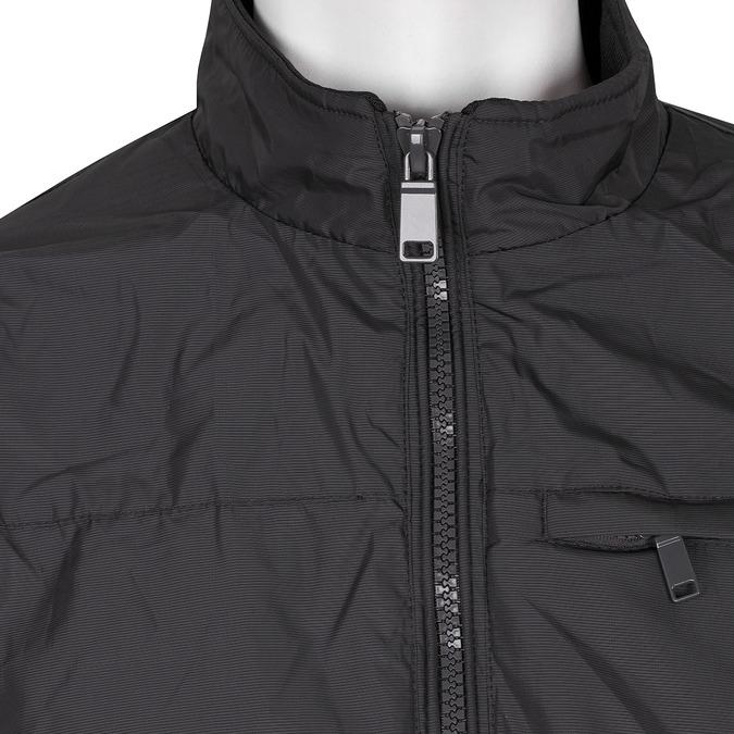 Pánská textilní bunda černá bata, modrá, černá, 979-9119 - 16