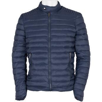 Pánská prošívaná bunda modrá bata, modrá, 979-9114 - 13