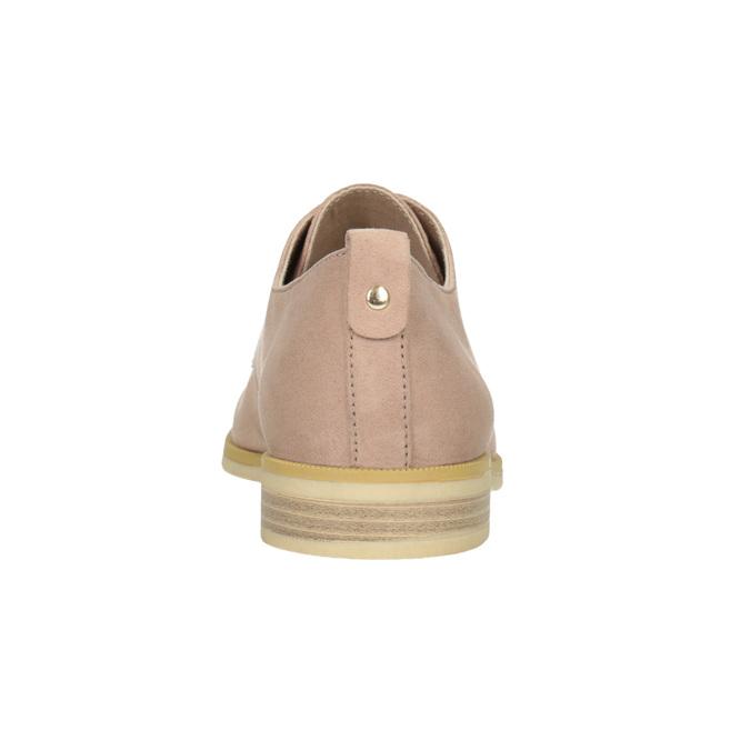 Ležérní dámské polobotky bata, růžová, 529-5636 - 16
