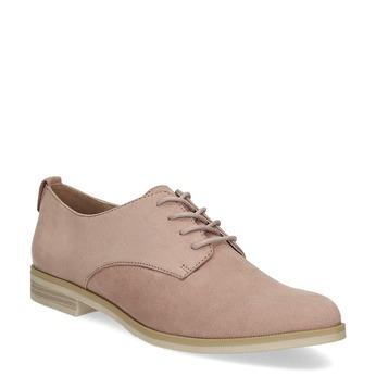 Ležérní dámské polobotky bata, růžová, 529-5636 - 13