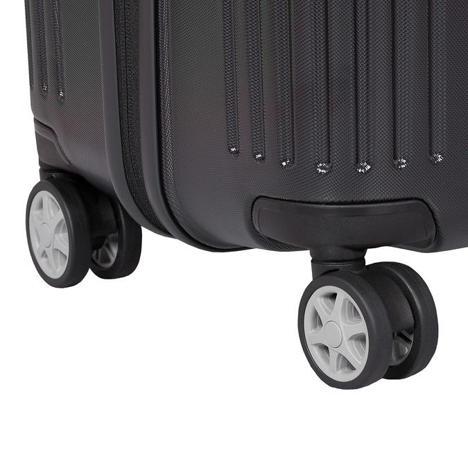 Skořepinový cestovní kufr samsonite, černá, 960-6612 - 16