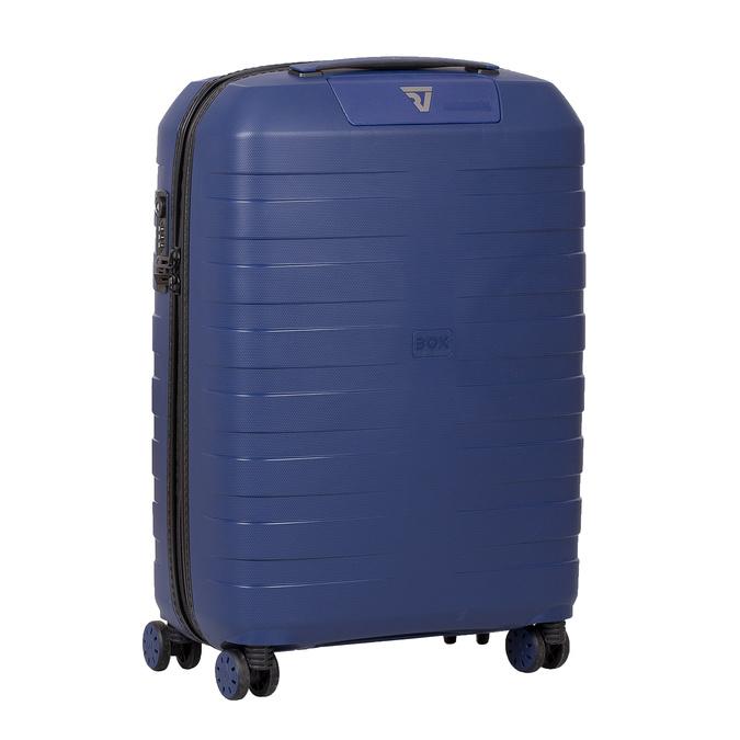 Menší cestovní kufr na kolečkách roncato, modrá, 960-9608 - 13
