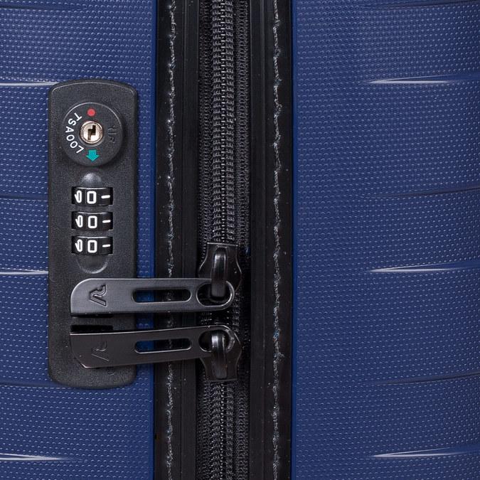 Menší cestovní kufr na kolečkách roncato, modrá, 960-9608 - 15