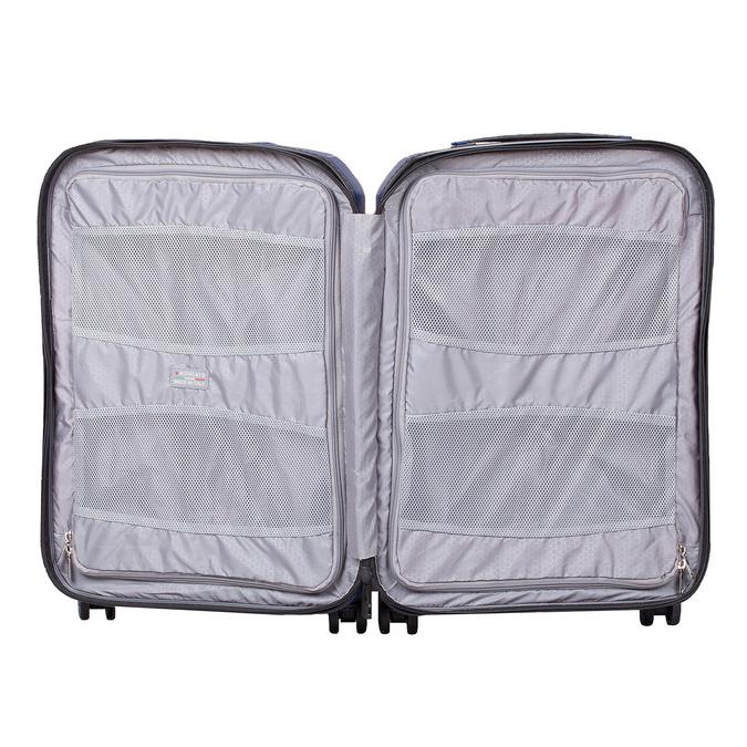 Menší cestovní kufr na kolečkách roncato, modrá, 960-9608 - 17