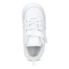 Bílé dětské tenisky se suchým zipem nike, bílá, 101-1154 - 17