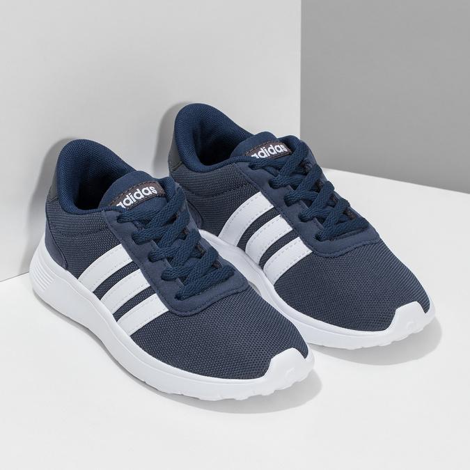 Modré chlapecké tenisky sportovního střihu adidas, modrá, 309-9388 - 26