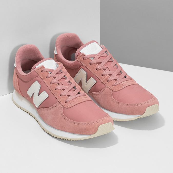 Růžové dámské tenisky new-balance, růžová, 509-5871 - 26
