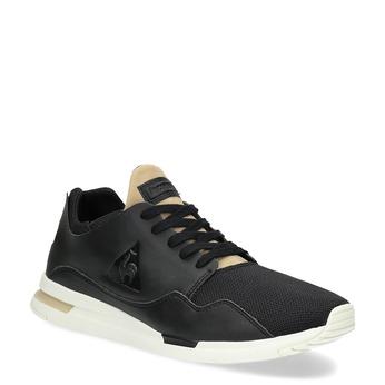 Černo-zlaté pánské tenisky le-coq-sportif, černá, 801-6234 - 13
