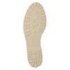 Khaki baleríny s perforací gabor, khaki, 523-7010 - 17