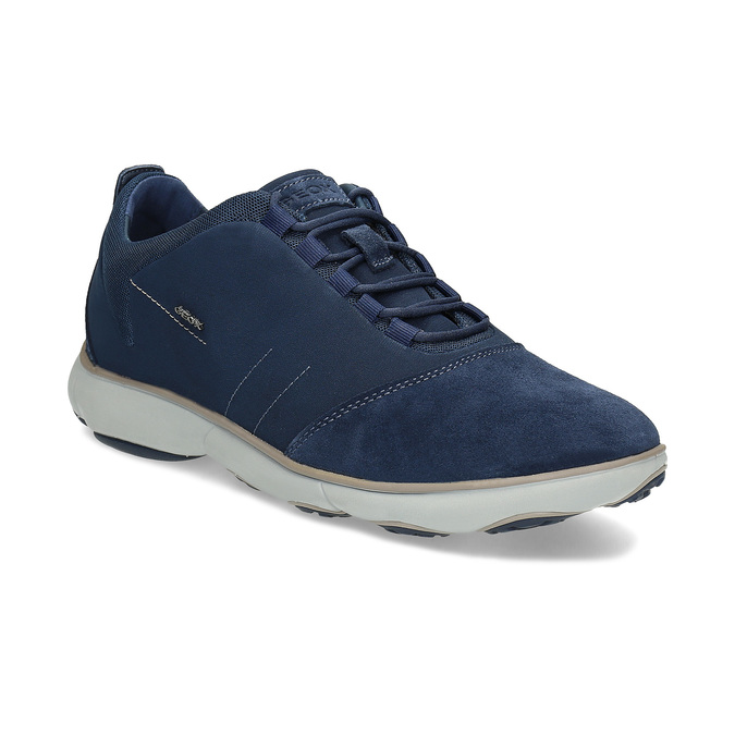 Pánské ležérní tenisky modré geox, modrá, 849-9002 - 13