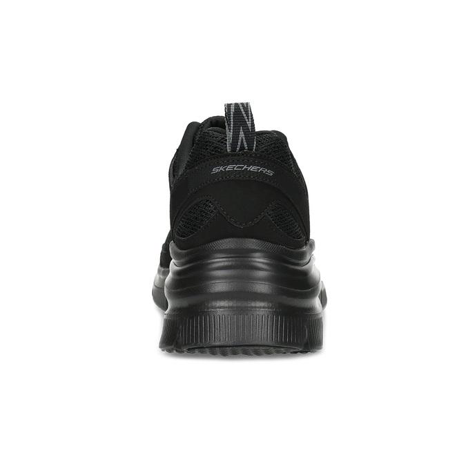 Černé sportovní Skechers tenisky skechers, černá, 509-6321 - 15