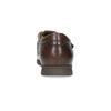 Pánské kožené sandály s pohodlnou podešví comfit, hnědá, 854-4602 - 15