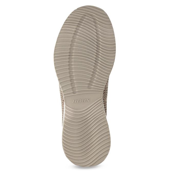 Hnědé dámské tenisky se vzorem skechers, hnědá, 509-2990 - 18