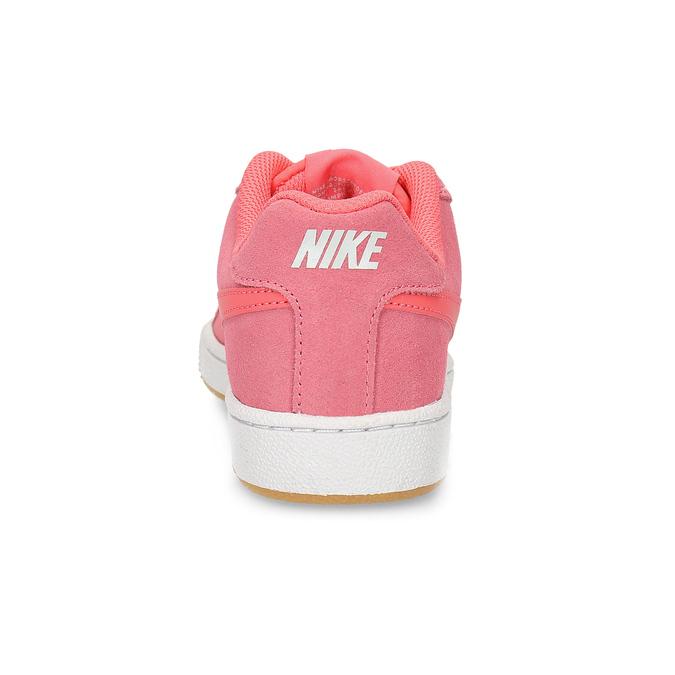 Kožené růžové dámské tenisky nike, růžová, 503-5862 - 15