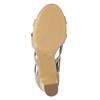Sandály na stabilním podpatku insolia, béžová, 769-8617 - 19