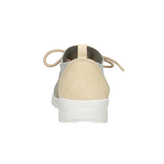 Dámské tenisky s úpletem bata-light, 549-1606 - 15