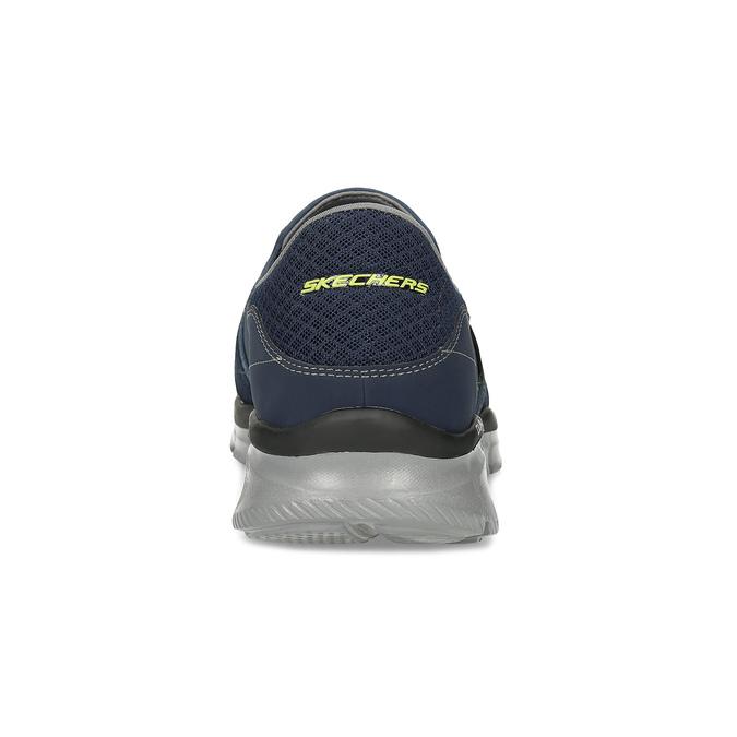 Slip-on sportovního střihu skechers, modrá, 809-9147 - 15