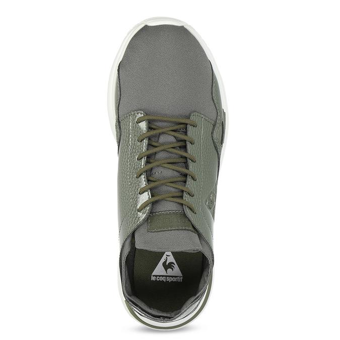 Khaki tenisky sportovního střihu le-coq-sportif, zelená, 501-7306 - 17