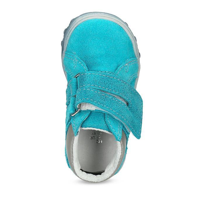 Dětské kotníčkové boty z kůže bubblegummers, 113-9608 - 17