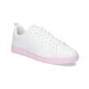 Dámské bílé tenisky s růžovou podešví adidas, bílá, 501-1533 - 13