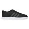 Pánské černé tenisky síťované adidas, černá, 809-6422 - 19
