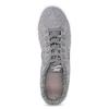 Šedé kožené tenisky dámské nike, šedá, 503-2862 - 17
