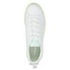 Dámské bílé tenisky se zelenou podešví adidas, bílá, 501-1733 - 17
