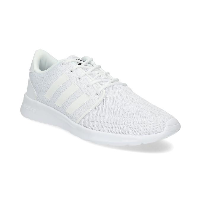 Bílé dámské tenisky s krajkou adidas, bílá, 509-1112 - 13