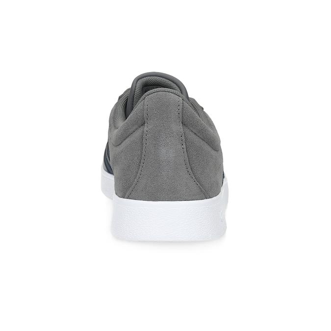 Pánské tenisky z broušené kůže šedé adidas, šedá, 803-2379 - 15