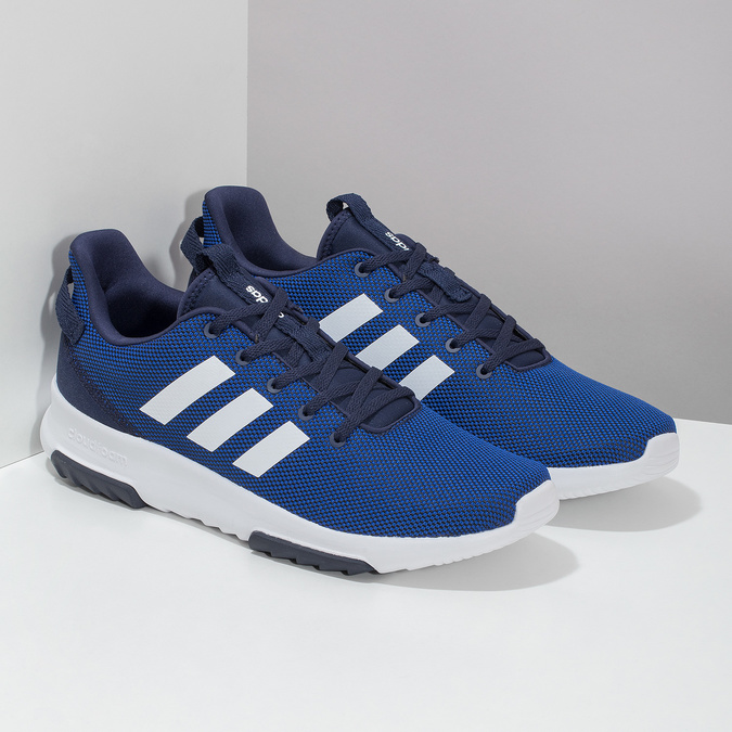 Pánské tenisky modré adidas, modrá, 809-9601 - 26