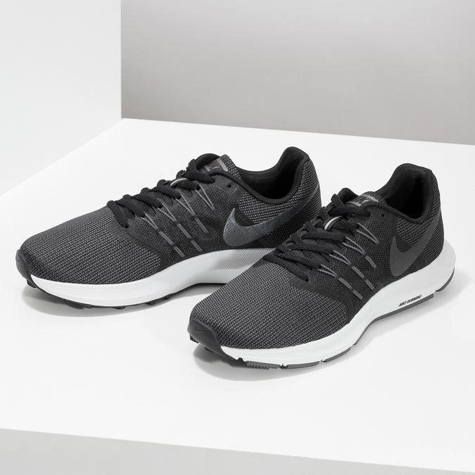 Dámské šedé tenisky nike, černá, 509-6854 - 16