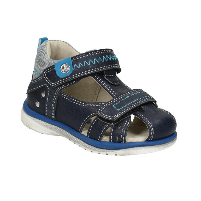 Modré dětské sandály bubblegummers, modrá, 161-9605 - 13