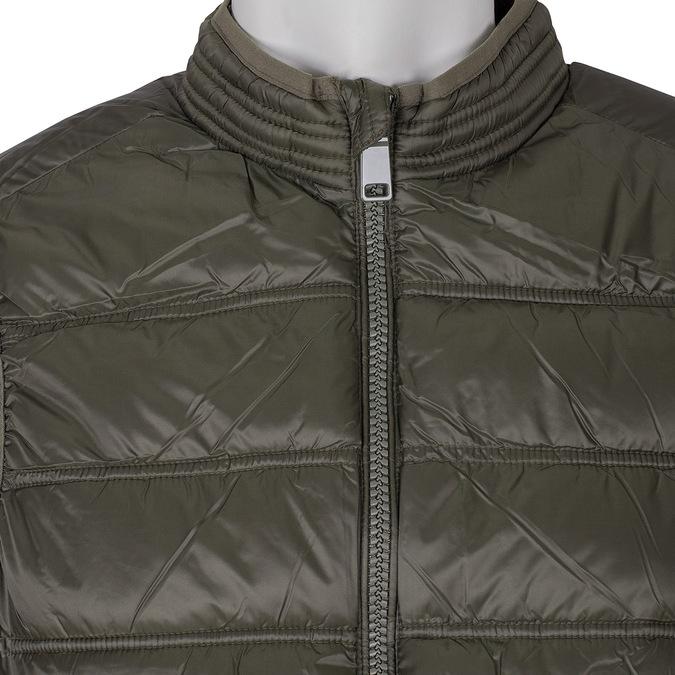 Pánská prošívaná vesta khaki bata, khaki, 979-7113 - 16