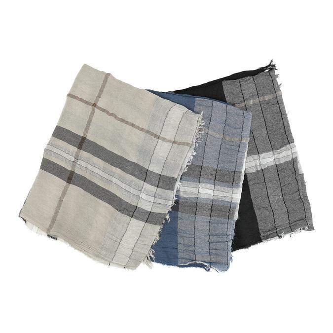 Dámský károvaný šátek bata, vícebarevné, 909-0324 - 13