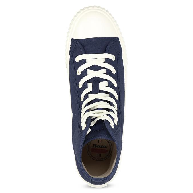 Pánské kotníčkové tenisky modré bata-bullets, modrá, 889-9243 - 17