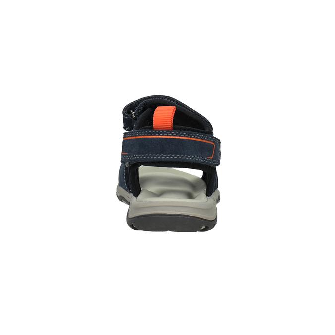 Chlapecké kožené sandály mini-b, 463-9608 - 15