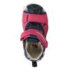 Dívčí sandály na suché zipy bubblegummers, růžová, 161-5604 - 17