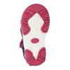 Dívčí sandály na suché zipy bubblegummers, růžová, 161-5604 - 19
