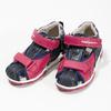 Dívčí sandály na suché zipy bubblegummers, růžová, 161-5604 - 16