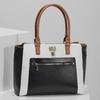 Dámská kabelka černo-bílá se zámečkem bata-red-label, vícebarevné, 961-0862 - 17